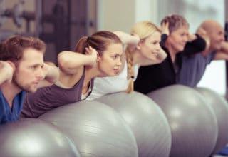 Pilates e osteopilates ginnastica di gruppo
